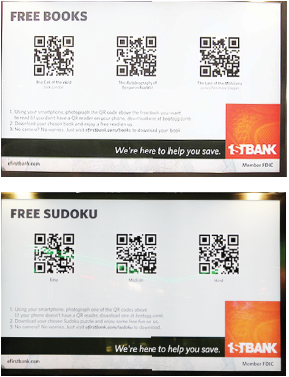 tactique marketing avec codes qr